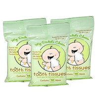 Tooth Tissues Dental Wipes for Toddler/Baby, 30 Count