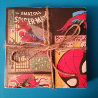 Amazing Spiderman Waterproof Tile Coasters