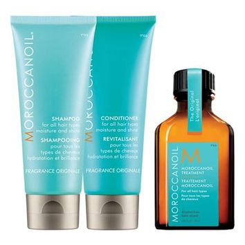 MOROCCANOIL Moisture & Shine Travel Kit ($37 Value) | Nordstrom