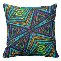 Tribal Print Pillows