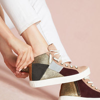 Penelope Chilvers Patchwork High-Top Sneakers