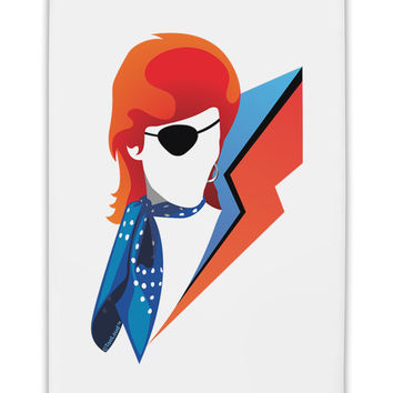 "The Glam Rebel Fridge Magnet 2""x3"