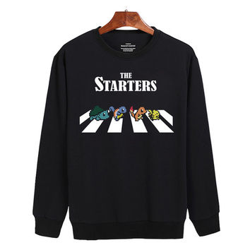 Pokemon Seller Starters Sweater sweatshirt unisex adults size S-2XL