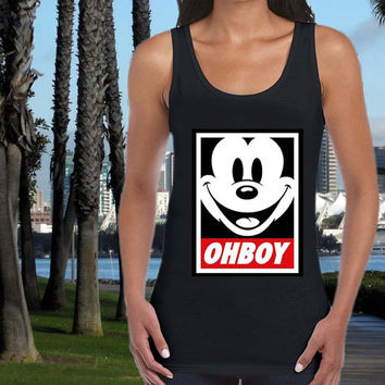 ohboy mickey mouse tank top US