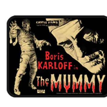 The Mummy Movie Poster Patch