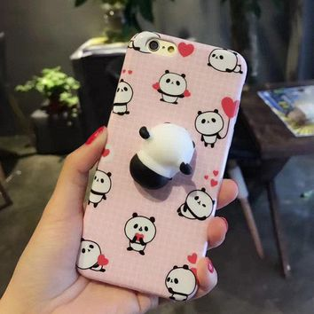 Phone Cases for iphone 6 6s 6 plus 6s plus 7 7 plus Mobile phone bag Squishy Kneading Cute Case Cover for iphone 6s Shell Fundas