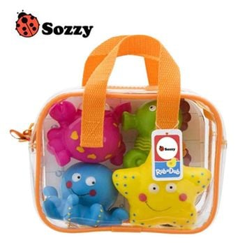 USA SOZZY High Quality Children Bathing Swimming Toys Animal Shape and Vehicle Shape Water Spray Toys
