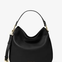 Heidi Medium Leather Shoulder Bag | Michael Kors