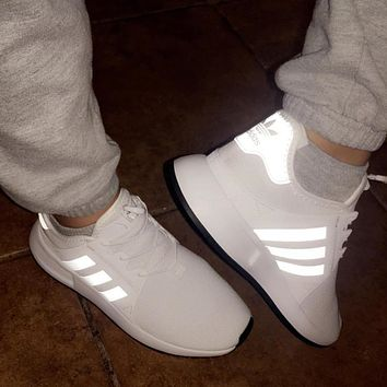 shosouvenir £ºAdidas Originals X_PLR Simple NMD Casual Sneakers White