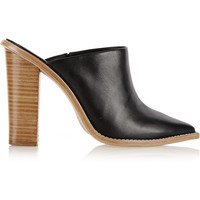 Tibi - Windsor leather mules