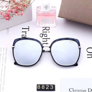 Dior 2019 new women's box polarized color film sunglasses #1