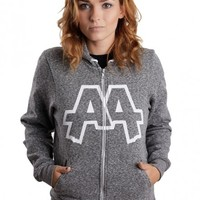 Asking Alexandria - From Death To Destiny Peppered Grey - Zipper
