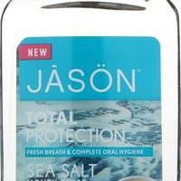 Jason Total Portection Sea Salt Mouth Rinse Cool Mint - 16 fl oz