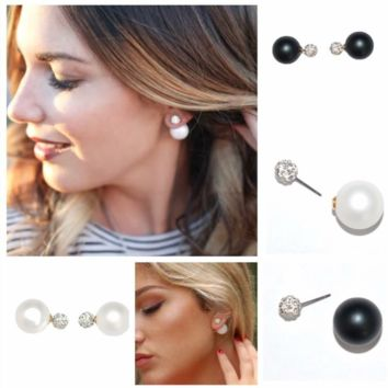Reversable Double Stud Earrings