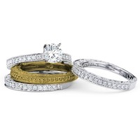 1/2ct tw Diamond Wedding Ring in 14K White Gold - Diamond Rings - Jewelry & Gifts