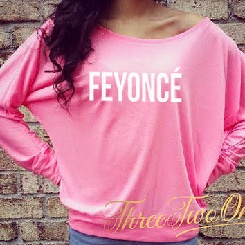 Feyonce Fiance Flowy Off the Shoulder Long Sleeve Shirt