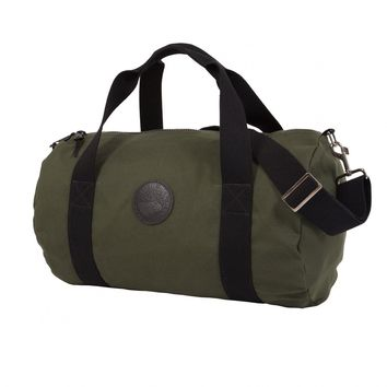 ROUND CANVAS DUFFLE BAG
