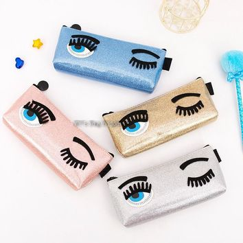 Triple Stone Wink Eye Makeup Bags
