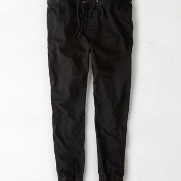 AEO Men's Jogger Pant (True Black)