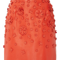 Embossed Leather Mini Skirt | Moda Operandi