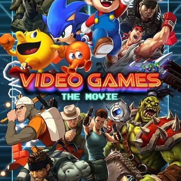 Video Games: The Movie 11x17 Movie Poster (2014)