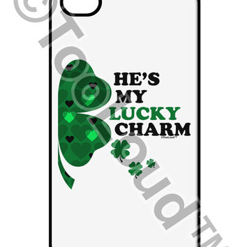 He's My Lucky Charm - Right iPhone 4 / 4S Case