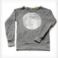Women's Full Moon Scoop Neck Sweatshirt