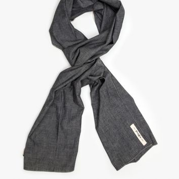 The Hill-Side / Selvage Chambray Scarf