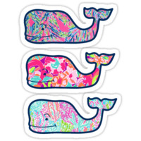 'Vineyard Vines 3 Pack' Sticker by EACedar311