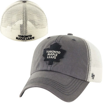 Toronto Maple Leafs '47 Brand Caprock Canyon Flex Hat – Charcoal