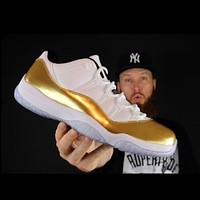 Jordan11 Low State Olympic Edition men's and women's casual sneakers