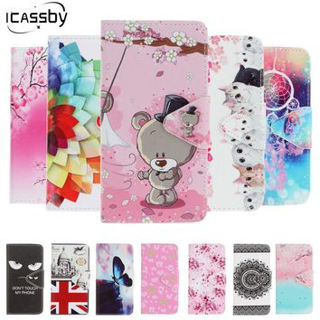 12 Fashion Flip Case for Apple iPhone 6S 6 PU Leather Soft Silicon Wallet On Cover for iPhone 6 Plus iPhone 7 7 Plus Case Coque