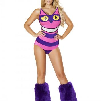 Grinning Cat 2pc Sexy Storybook Costume