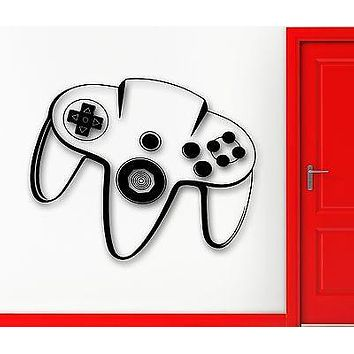 Wall Sticker Vinyl Decal Video Game Controller Joystick Xbox Kid Nusery Unique Gift (ig1168)