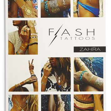 Junior Women's Flash Tattoos 'Zahra' Temporary Tattoos