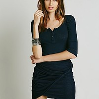 Free People Womens Simone Twist Mini Skirt