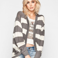 Element Colleen Womens Cardigan Grey  In Sizes