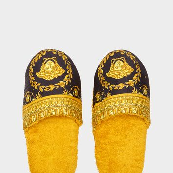 Versace I ♡ Baroque Bath Slippers - Home Collection | US Online Store