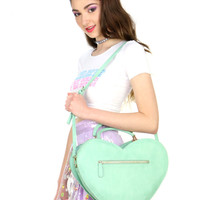 BIG HEART CROSSBODY BAG