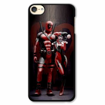 Harley Quinn And Deapool iPod Touch 6 Case