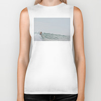 morning surf Biker Tank by RichCaspian