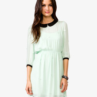 Embroidered Georgette Dress | FOREVER21 - 2040495123