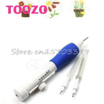 3 Sized Stitching Punch Needle Punching Punch Needle Tool Kit For Embroidery DIY #G205M# Best Quality