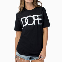DOPE Glow In The Dark Logo Tee $40