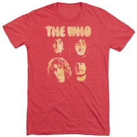 The Who Boys Adult Soft Tri Blend T-Shirt