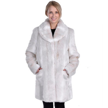 Nuage Women's Helsinky Faux Fur Coat | Overstock.com Shopping - The Best Deals on Coats