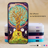 Tree of Life Phone Case For iPhone 6 Plus For iPhone 6 For iPhone 5/5S For iPhone 4/4S For iPhone 5C iPhone X 8 8 Plus