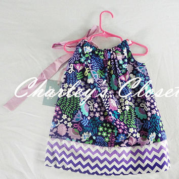Little Girls Chevron Pillowcase dress,Pillowcase Dress,Little Girls Dress,Toddler Dress,Boutique Girls Dress,Girls Clothing,Toddler dress