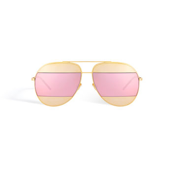 Dior - Split Pink Sunglasses