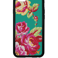 Wildflower Teal Rose iPhone 6 Case